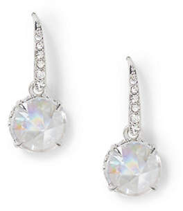 Vince Camuto Rhodium Rivoli Drop Earrings