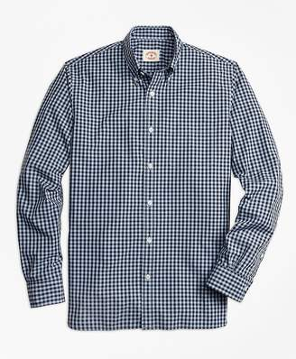 Gingham Broadcloth Sport Shirt $59.50 thestylecure.com