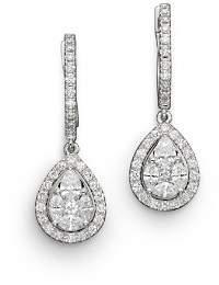 Bloomingdale's Diamond Fancy Cut Teardrop Earrings in 14K White Gold, 1.40 ct. t.w. - 100% Exclusive