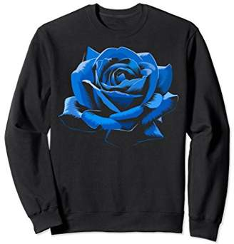 Blue Rose cute flower beautiful Sweatshirt