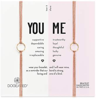 Dogeared You & Me Friendship Bracelets, Set of 2 $48 thestylecure.com