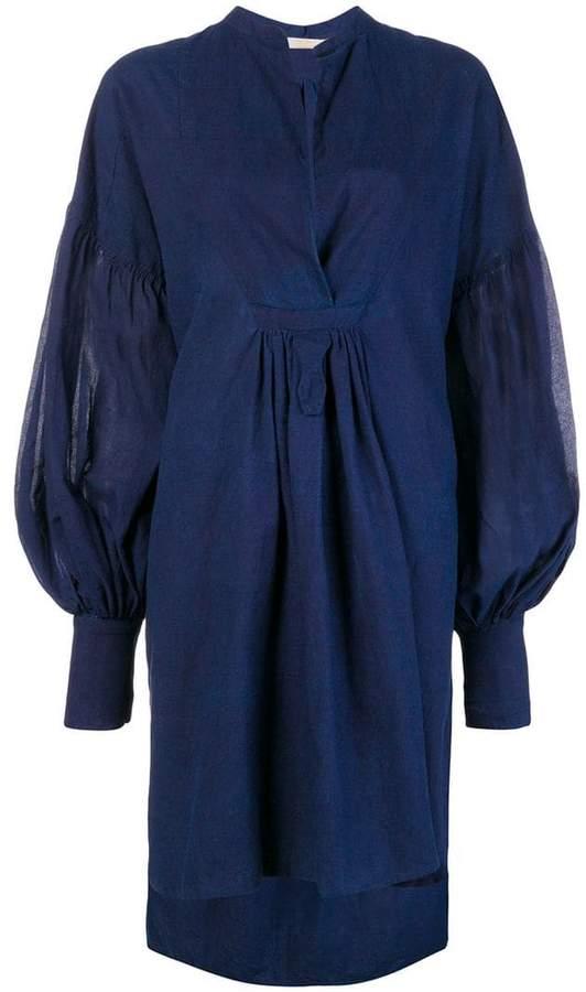 Atelier Bâba handwoven shirt dress