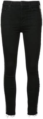 Mother stripe skinny jeans
