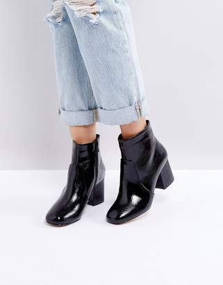 Oasis Block Heeled Ankle Boot