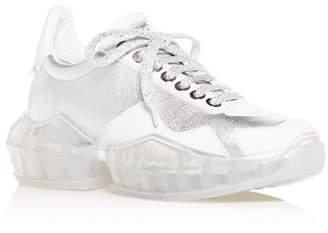 Jimmy Choo Women's Diamond Low-Top Sneakers