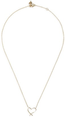 Stephen Webster 'Neon Heart' 18k yellow gold pendant necklace