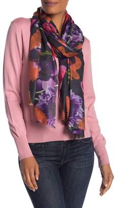 Bindya LULLA COLLECTION BY Printed Floral Scarf