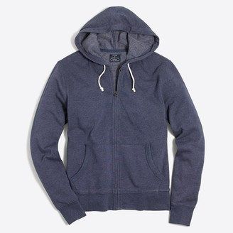 J.Crew Lightweight fleece full-zip hoodie