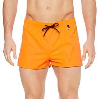 3d462dd3ec6340 Hom Men's Sunlight Beach Shorts Swim (Orange Fluo 00jx), X-Large