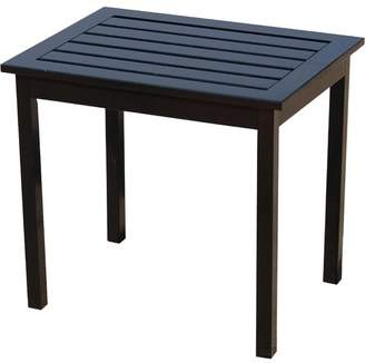 Fullrich Cardiff Patio Solid Wood Side Table