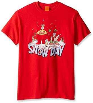 Nickelodeon Men's Rocko's Snow Day T-Shirt