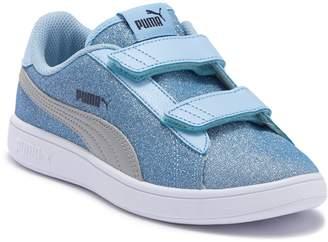 Puma Smash V2 Glitz Glam Sneaker (Little Kid)