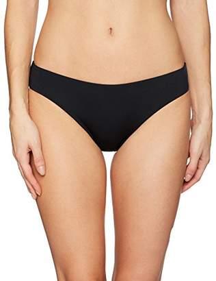 Laundry by Shelli Segal Women's Solid Basic Hipster Bikini Bottom