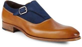 Mezlan Men's 18432 Colorblock Leather Dress Shoes