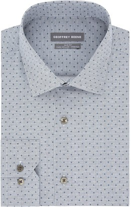 Geoffrey Beene Men's Regular-Fit Stretch Spread-Collar Dress Shirt
