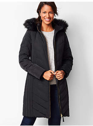 Talbots Down Puffer Jacket - Long