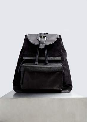 Hopper Corduroy and Leather Backpack