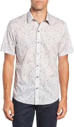Zachary Prell Burgess Regular Fit Sport Shirt