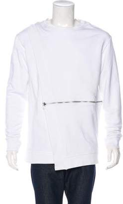 Hood by Air Deconstructed Zip Front Sweater