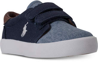 Polo Ralph Lauren (ポロ ラルフ ローレン) - Polo Ralph Lauren Toddler Boys' Olan Ez Casual Sneakers from Finish Line