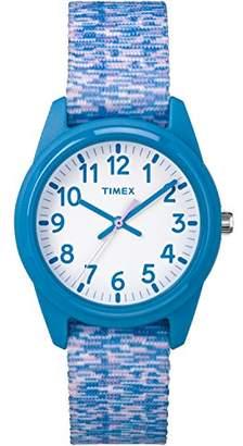 Timex Girls TW7C12100 Time Machines Elastic Fabric Strap Watch