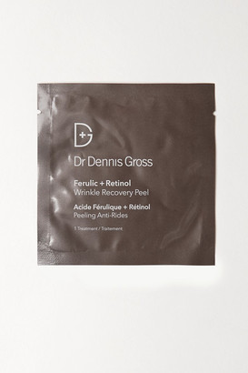 Dr. Dennis Gross Skincare - Ferulic Retinol Wrinkle Recovery Peel X 16 - one size $88 thestylecure.com