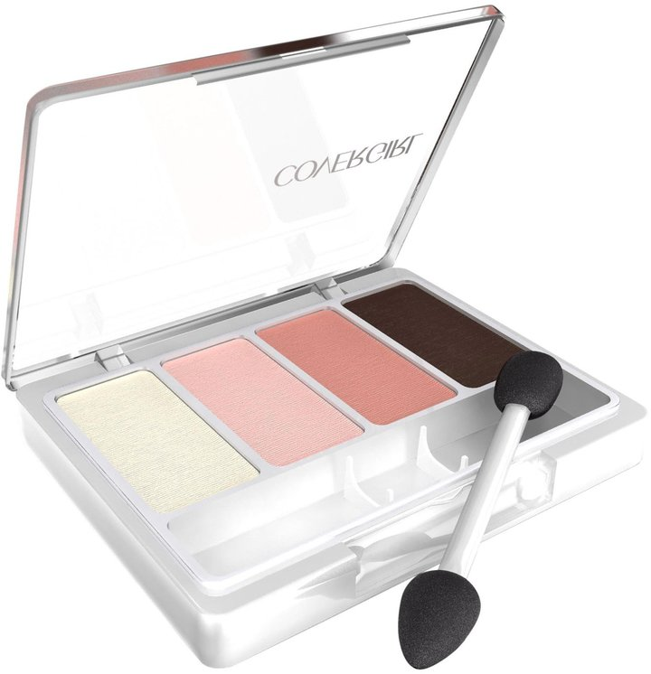 CoverGirl Eye Enhancers 4-Kit Eye Shadow - Blushing Nudes 284 - 0.19 oz