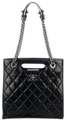 Chanel 2017 Small Quilted Tote