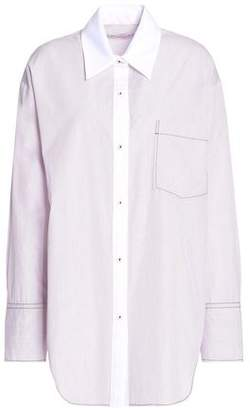 Sonia Rykiel Striped Cotton-Poplin Shirt