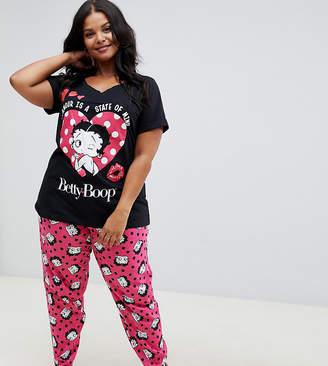 Betty Boop Yours 2 Piece Pyjama Set