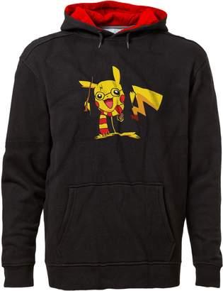 Pokemon BSW Unisex Pikachu Potter Harry Potter Premium Hoodie 2XL Blk/Red