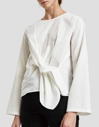 Just Female Ady Is Blouse in Optical White