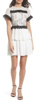 Foxiedox Melita Tiered Lace Dress