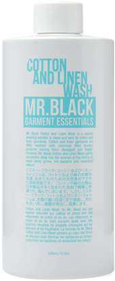 Mr. Black Garment Essentials Cotton & Linen Wash