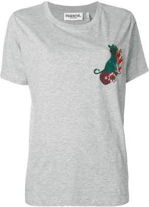 Essentiel Antwerp embroidered short-sleeve T-shirt