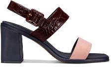 Tory Burch Delaney Color-Block Sandals