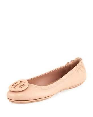 Tory Burch Minnie Travel Logo Ballerina Flat