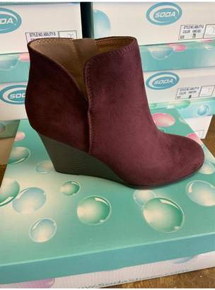 L.A. Shoe King Wedge Bootie