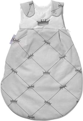 Camilla And Marc Nicolientje Sleeping Bag Cotton with Tencel (Silver Size 86/92 cm)