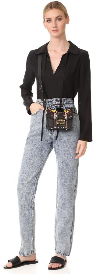 Furla Metropolis Jungle Mini Cross Body Bag 2