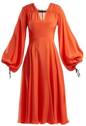Roksanda Houma Silk Dress - Womens - Pink