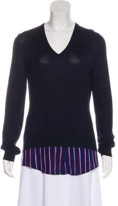 Altuzarra Merino Wool & Silk Long Sleeve Sweater