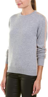 Derek Lam 10 Crosby Metallic Wool& Cashmere-Blend Sweater