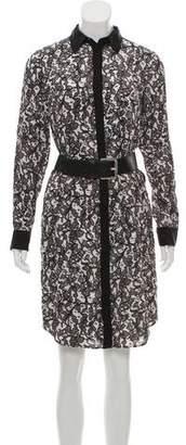 MICHAEL Michael Kors Silk Knee-Length Dress