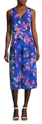 Vince Camuto Floral Cropped Jumpsuit