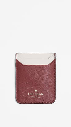 Kate Spade Triple Sticker Phone Pocket