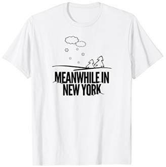 Funny New York Shirt Winters Snow In NY Weather Tshirts