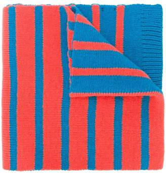 Paul Smith two-tone striped scarf