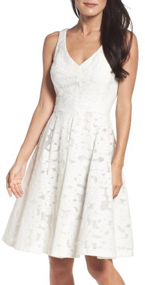 Women's Maggy London Fit & Flare Dress $168 thestylecure.com
