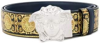 Versace Medusa Signature print belt